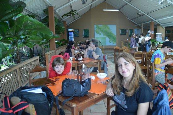 Guapiles, Costa Rica: Restaurante