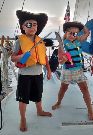 Palm Coast Tours & Sailing : AARRGGHH - Pirates aboard!