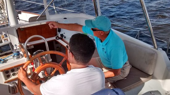 Palm Coast Tours & Sailing : Learning how to sail