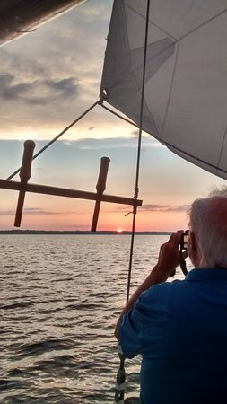 Palm Coast Tours & Sailing: Take your own sunset photos from the deck