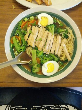 Lincoln Park, MI: Chicken ramen.