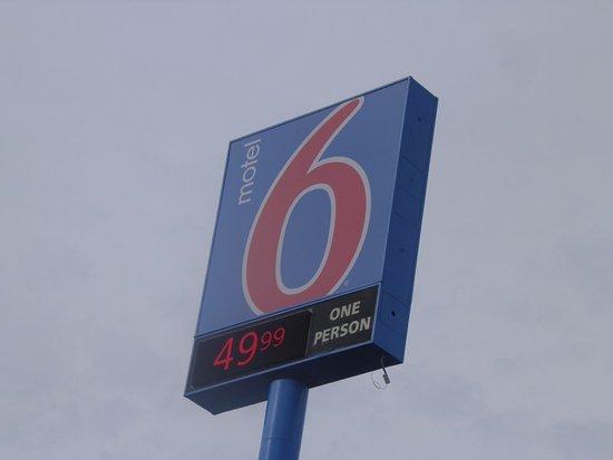Altoona, Pensilvania: L'enseigne (dimanche soir, c'était plus cher)