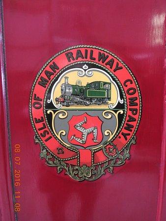 ดักลาส, UK: IOM Railway Emblem