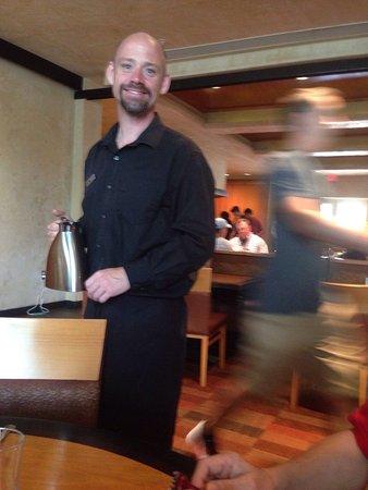 Octagon: Tim , the waiter 👍