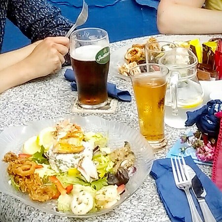 Kilmore Quay, Irlande : Scrumptious seafood platter