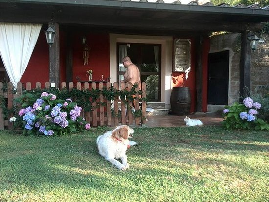 Sorano, Italië: Il ns appartamento