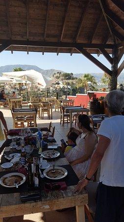 Carbon La Nucia Pueblo: Enjoying the view etc. etc. etc.