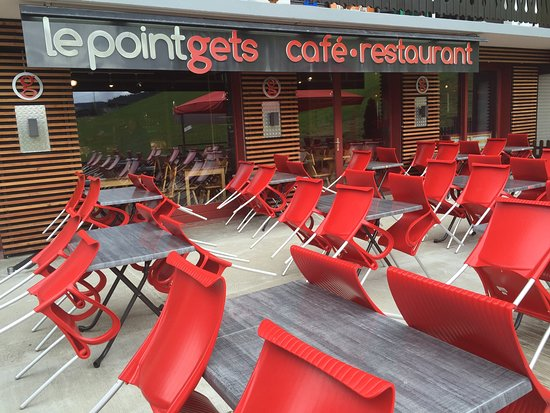 Les Gets, France: Superbe terrasse au soleil