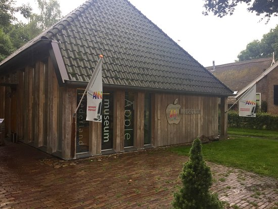 Westerbork, เนเธอร์แลนด์: The Apple Museum Nederlands