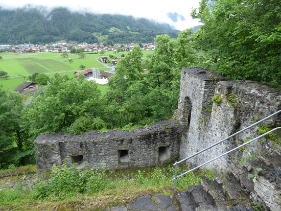 Wilderswil, Switzerland: Ruins