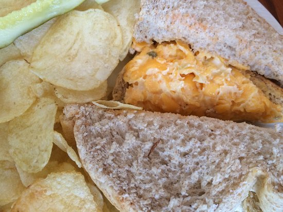 Staunton, VA: Pimiento cheese sandwich