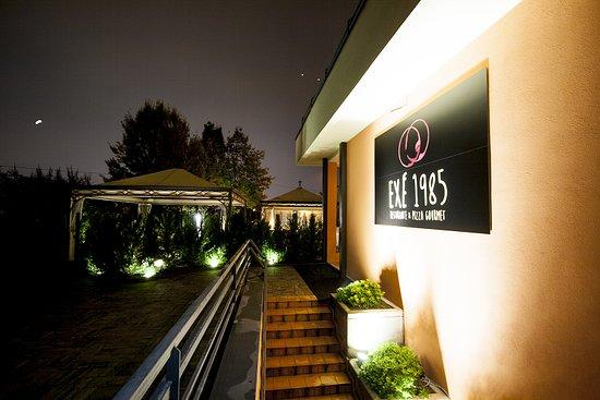 Fiorano Modenese, อิตาลี: Ingresso ristorante e veduta del giardino