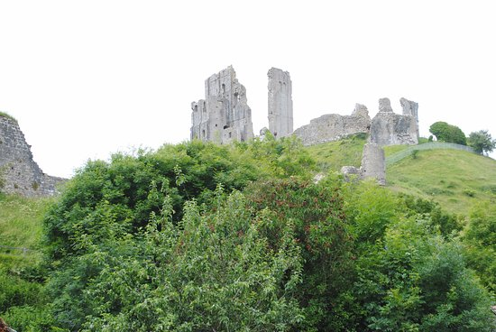 Corfe Castle, UK: Great View