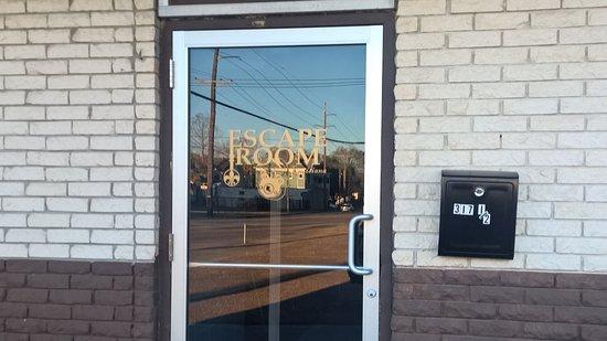 Escape Room Louisiana Entrance