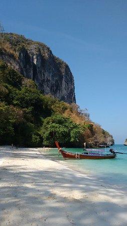 Poda Island: views from the beach