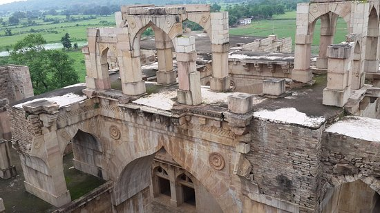 Chanderi, Indien: The architecture