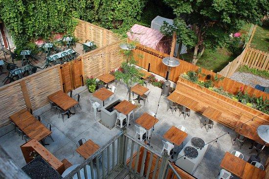 Restaurant l'Espiègle: Nouvelle terrasse