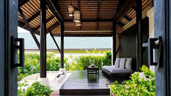 Anantara Lawana Koh Samui Resort: Anantara Pool Villa Outdorr Sundeck