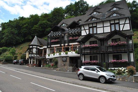 Beilstein, Germany: Eingangsbereich des Hotels