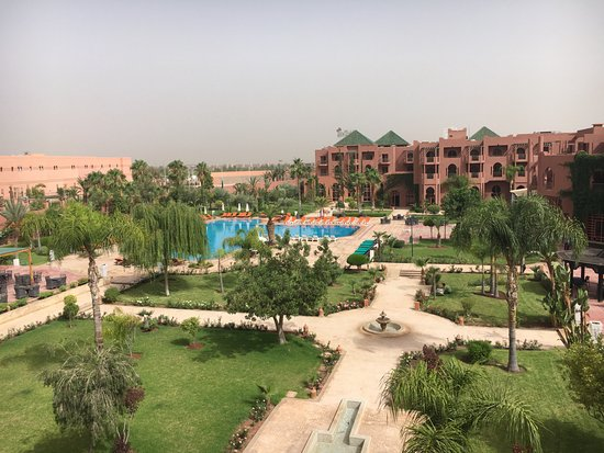 Palm Plaza Marrakech Hotel & Spa: View from hotel room