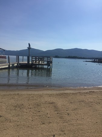 Diamond Point, NY: Golden Sands Resort on Lake George