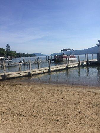 Diamond Point, NY: Golden Sands Resort on Lake George