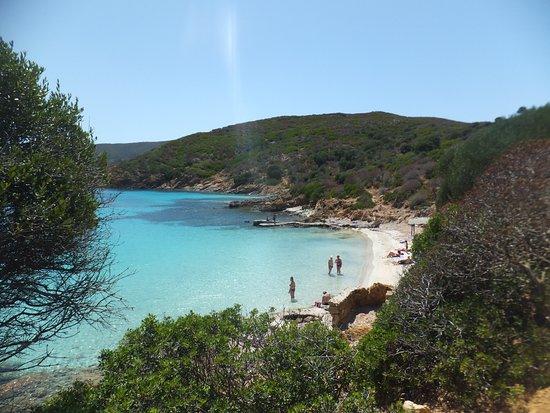 cala sabina,  view to the southend