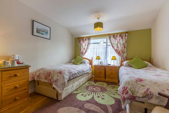 The Old Coach House: Cambeak twin disabled en-suite room
