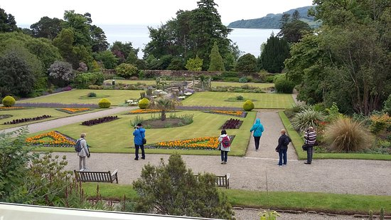 Brodick, UK: Only a small part of the gardens.