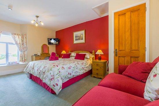Boscastle, UK: Pentargon double en-suite room