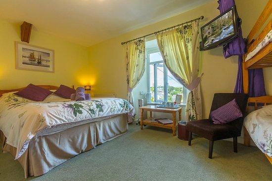 Boscastle, UK: Forrabury Family en-suite room