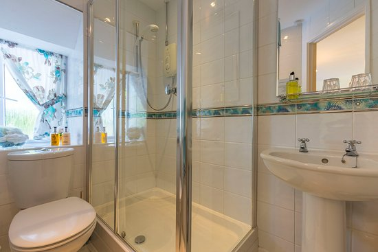 Boscastle, UK: Buckator en-suite shower room