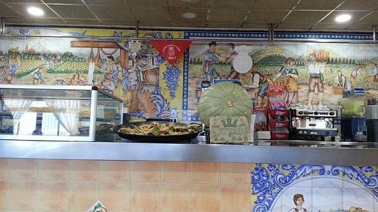 ลิบริลลา, สเปน: restaurante La Paz