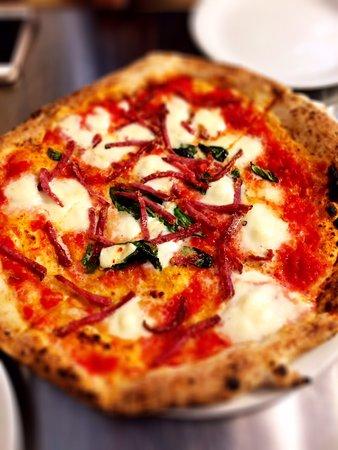 Salami Pizza Picture Of Pizza Pilgrims London Tripadvisor