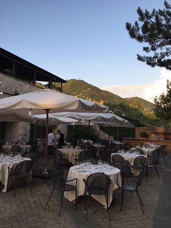 Park Hotel Ai Cappuccini: Alfresco dining