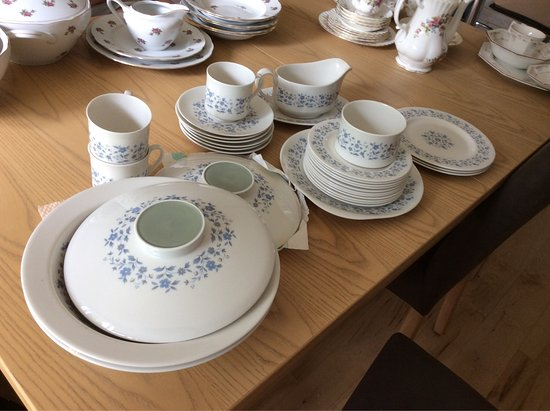 Upstairs & Downstairs Tearooms: I have inherited several perfect Tsets/dinner sets. Would you be interested in buying any? The f