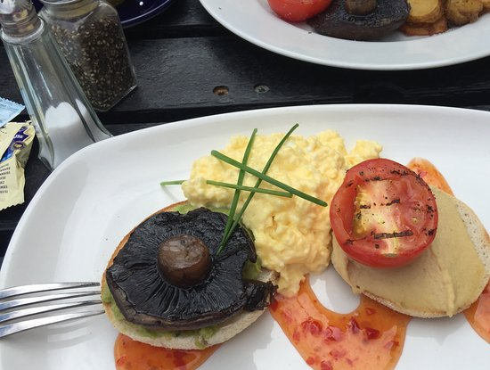 ‪‪Shaldon‬, UK: Veggie breakfast‬