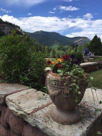 Redstone, Колорадо: terrace view