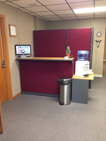 Lawrence, KS: Interior - waiting area and reception