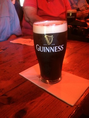 Jack Meade's Pub: a perfectly poured glass of Guinness