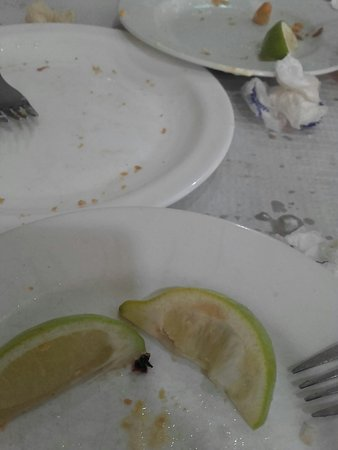 Puerto Real, Spanyol: Esta es la mejor fotos....platos vacíos!!!....jiji...todo buenísimo y de primera calidad... trat