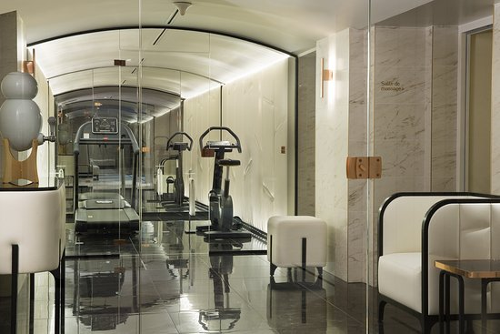 Fitness room picture of le narcisse blanc hotel spa for Salon fitness paris