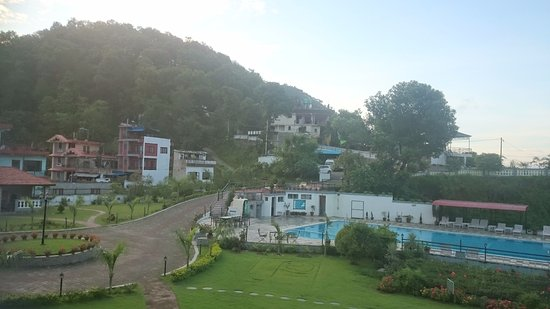 Waterfront Resort Hotel: view from room