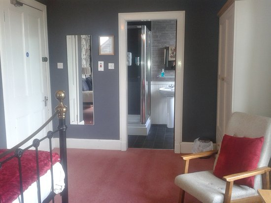 Aberfeldy Lodge Guest House: Suprior king size en-suite.