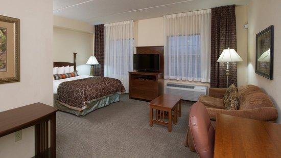 West Seneca, estado de Nueva York: Queen Bed Guest Room