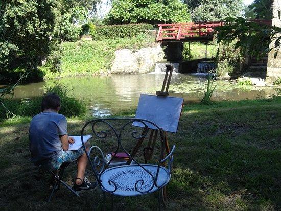 Saint-Erblon, Frankrijk: Un moment de détente