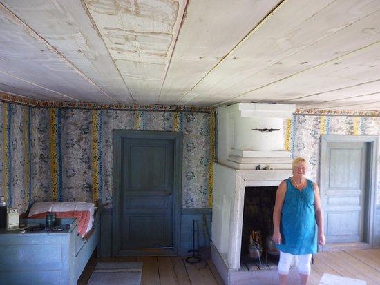 Ljusdal, İsveç: Декорированная ферма и её хозяйка