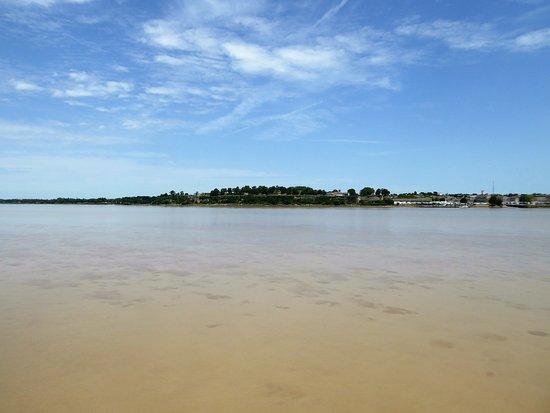 Blaye, فرنسا: Arrivée à Blaye