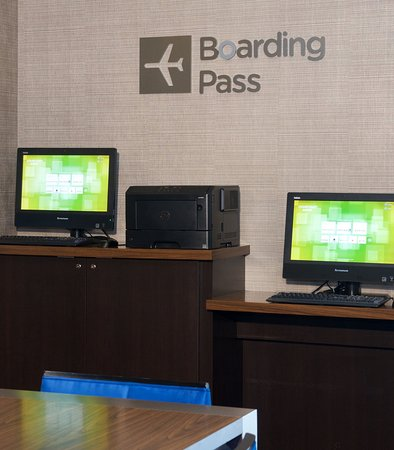 Billerica, MA: Boarding Pass Station