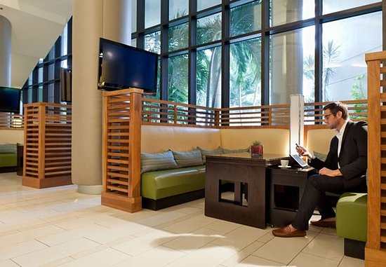 Miami Marriott Biscayne Bay: Lobby – Seating Area